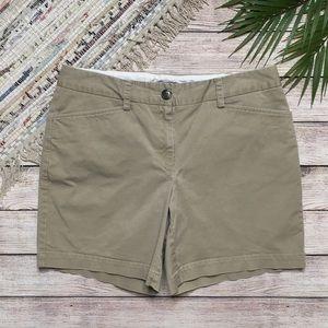 3/$30 Lands End Classic Khaki Shorts